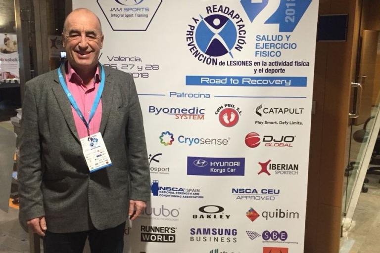 El Dr. Pérez de Ayala asiste al IV Congreso Internacional de Readaptación y Prevención de Lesiones en actividad física y el deporte.
